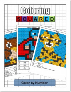 Coloring Squared: Color by Number $9.95
