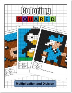 Coloring Squared: Multiplication and Division $9.95