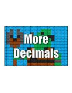 Get More Decimals