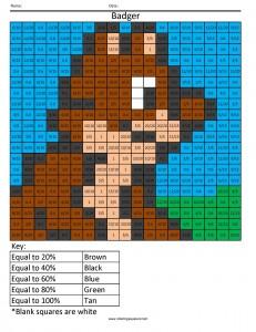 math worksheet : castlepobj  free math worksheets percents to decimals : Fraction Attraction Worksheet