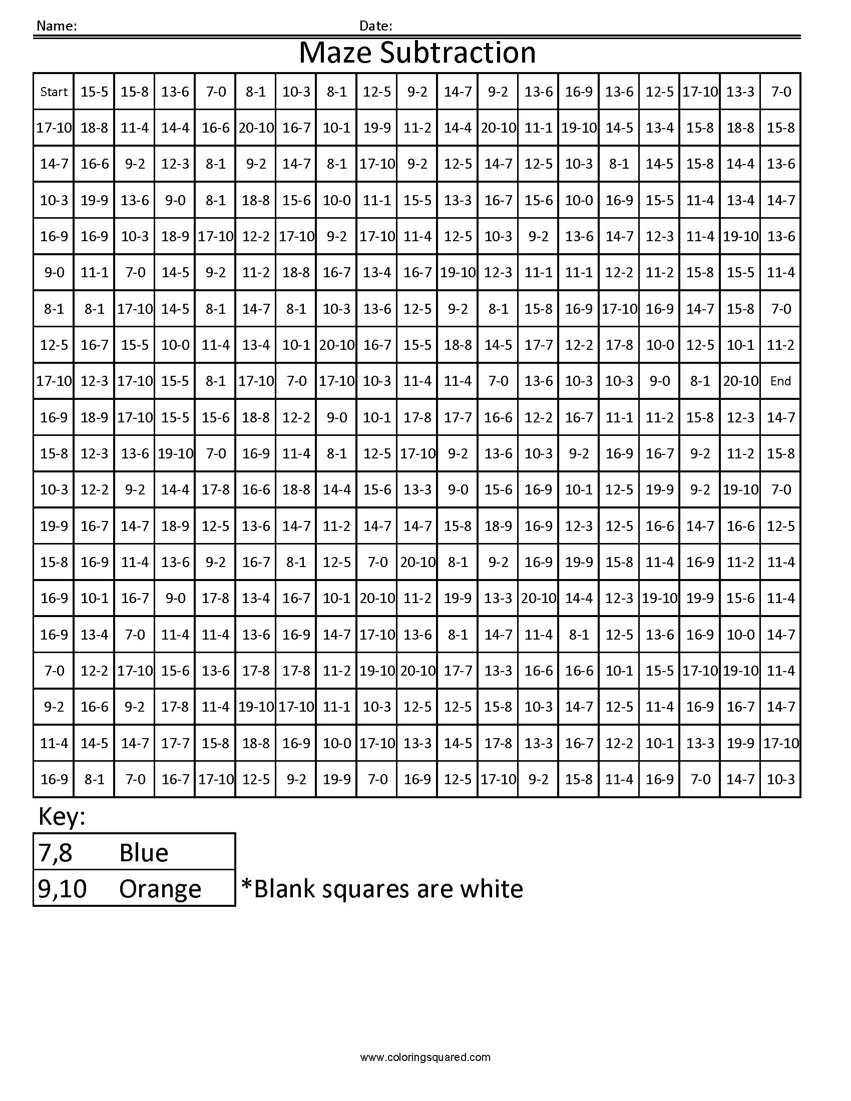 worksheet. Math Fact. Discoverymuseumwv Worksheets for Elementary ...