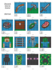 Coloring Pages That Combine Pixel Art Math Homeschool