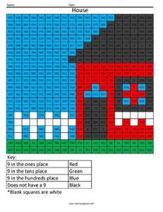 Place Value Worksheets House