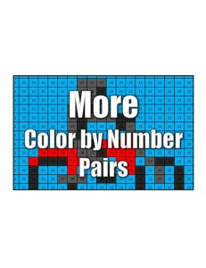 Get More Color by Number Pairs
