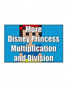 Get More Disney Multiplication