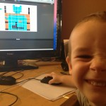 Alex Enjoys the Pixel Painter