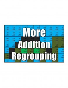 Get More Addition Regrouping