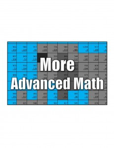 Get More Advanced Math