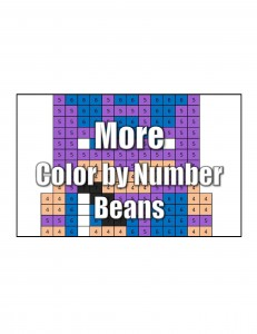 Get More Color by Number Comic Beans