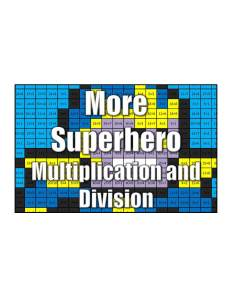 Get More Superhero Multiplication