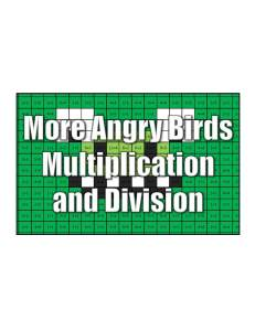 Get More Angry Multiplication