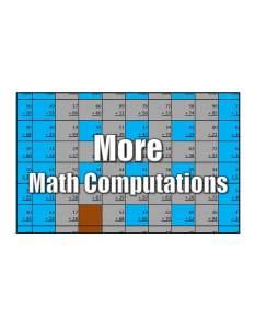 Get More Computations