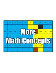 Get More 3rd Grade Math Concepts