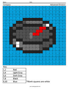 Minecraft Compass- Multiplication and Division