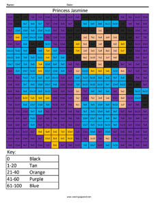 Princess Jasmine- Advanced Multiplication