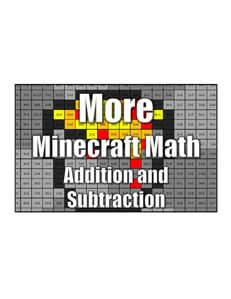 Get More Minecraft Math AnS