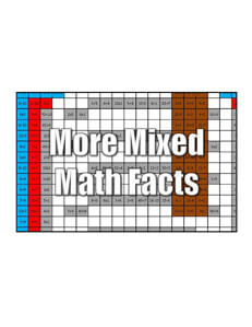 Get More Mixed Math Facts