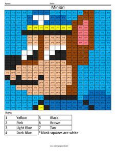 27MD Paw Patrol Chase cartoon math worksheets - Coloring ...