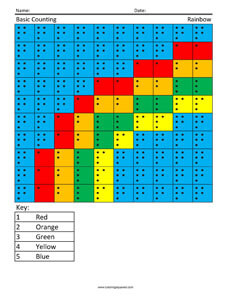 Rainbow- Basic Counting