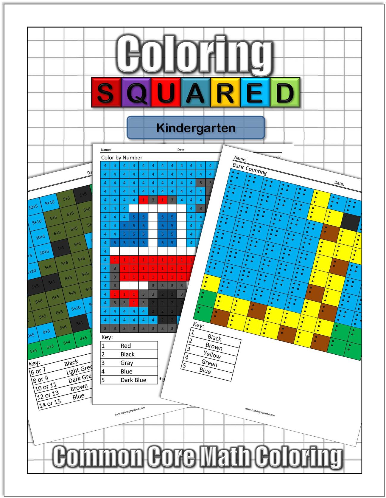 Product Images - Coloring Squared