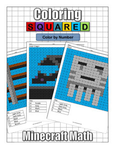 Coloring Squared unofficial Minecraft: Color by Number