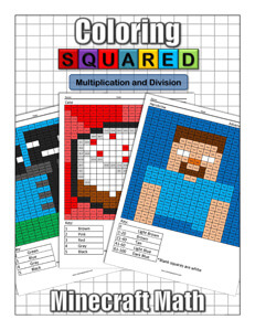 Minecraft Multiplication and Division Front