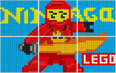 Lego Ninjago Addition And Subtraction Coloring Squared