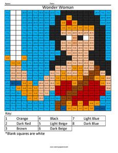Wonder Woman Justice League Division