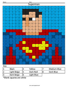 Superman- Practice Subtraction