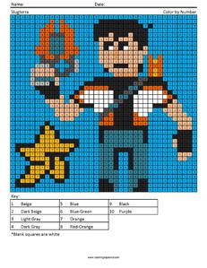 Slugterra- megapixel coloring pages
