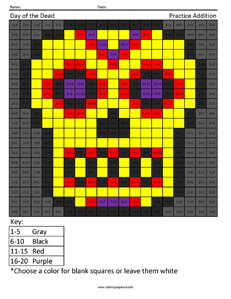 Day of the Dead Coloring Pages- Holiday Coloring Sheets