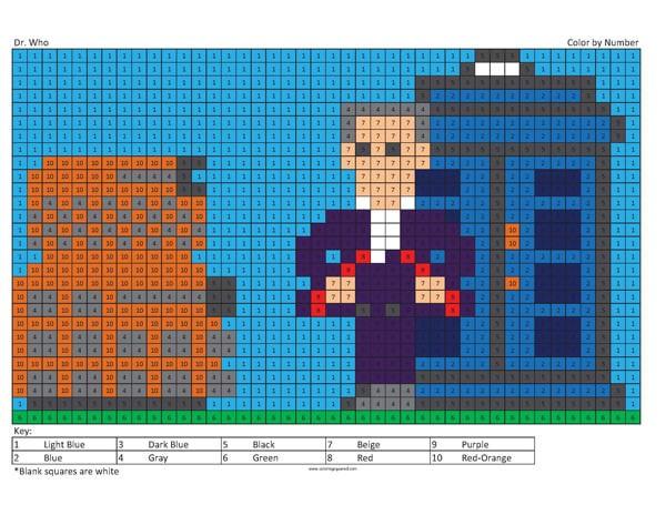 Megapixel Coloring - Coloring Squared