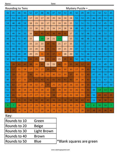 Villager- Rounding Tens