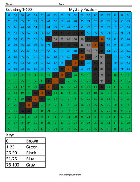 Pickaxe- Counting 1 to 25