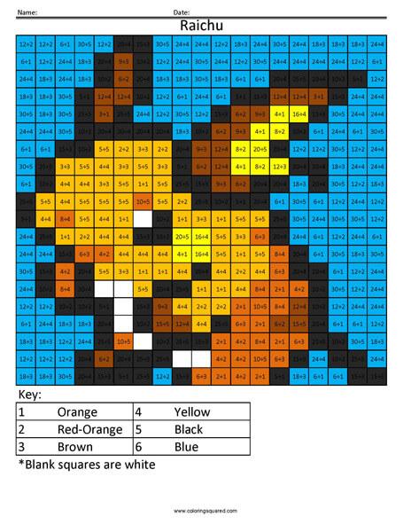 Raichu Pokemon