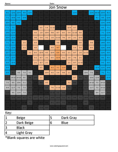 Jon Snow Subtraction Game of Thrones