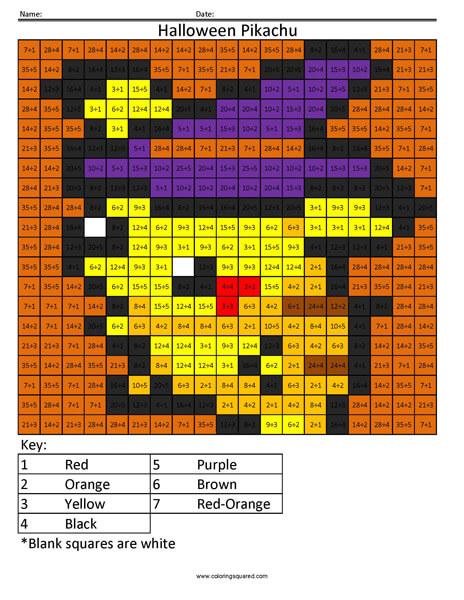 Halloween Bulbasaur Division page