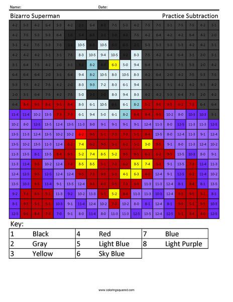 Halloween Bizarro Superman coloring page