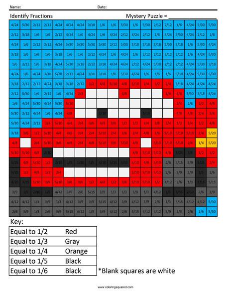 Lightning McQueen- Fractions