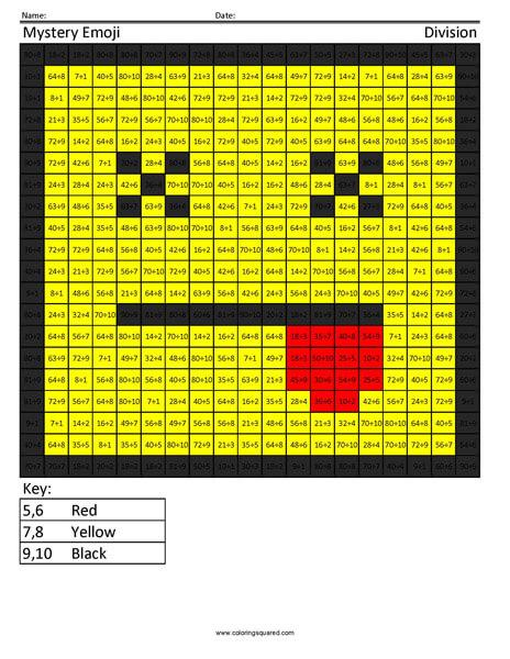 Square Emoji Dead Division Coloring activity