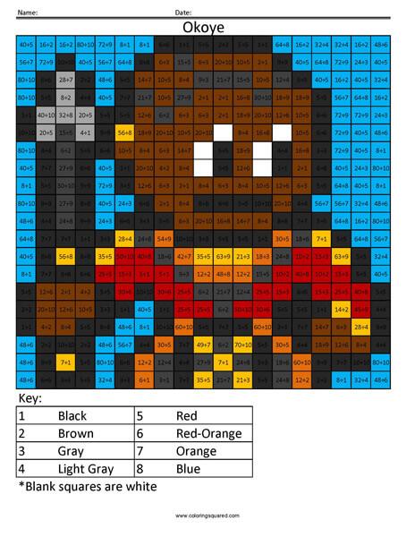 Okoye Division Coloring Black Panther