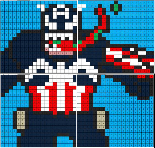 Maximum Venom Captain America - Coloring Squared